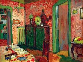 Wassily Kandinsky: Interieur (Mein Eßzimmer)