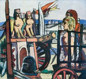 Max Beckmann: Abtransport der Sphinxe