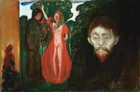 Edvard Munch: Eifersucht