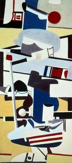 Arshile Gorky: Studie für ein Wandbild im Flughafen Newark, New Jersey