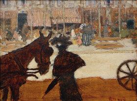 Pierre Bonnard: Das Droschkenpferd