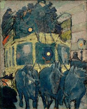 Pierre Bonnard: Ein Omnibus der Linie Pantheon-Courcelles
