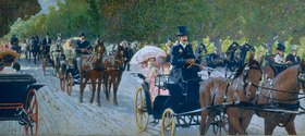 Maximilian Lenz: Travelling in the Prater
