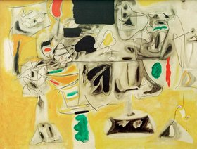 Arshile Gorky: Landscape-Table