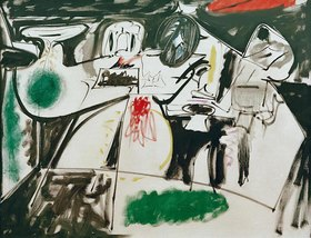 Arshile Gorky: Last Painting - The black Monk