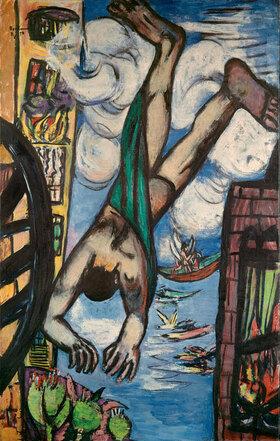 Max Beckmann: Abstürzender