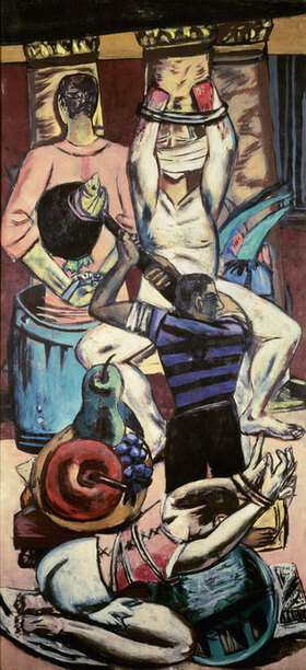 Max Beckmann: Abfahrt
