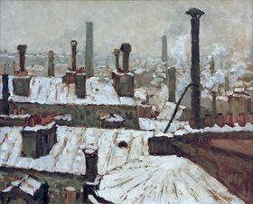 Gustave Caillebotte: Verschneite Dächer