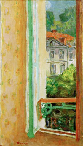 Pierre Bonnard: Offenes Fenster in Uriage