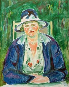 Edvard Munch: Portrait der Frau Hoffmann