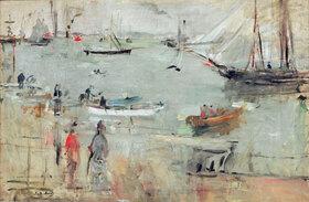 Berthe Morisot: Hafenszene, Isle of Wight