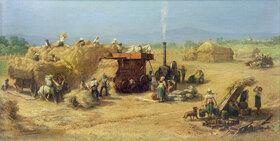 Johann Heinrich Hasselhorst: Ernte bei Praunheim