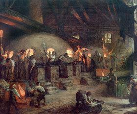 Johann Heinrich Hasselhorst: Glashütte in Hessen