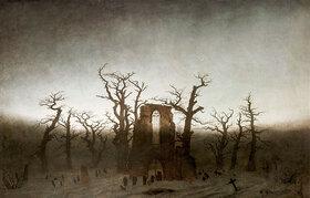 Caspar David Friedrich: Abtei im Eichwald, 1809?