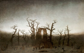 Caspar David Friedrich: Abtei im Eichwald