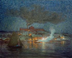 Prinz von Schweden Eugen: Ölfabrik in Rökar