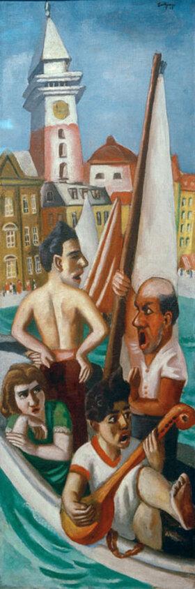Max Beckmann: Italienische Fantasie