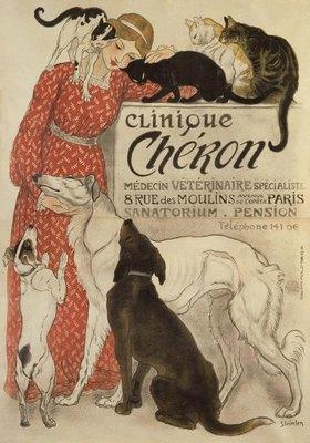 Théophile-Alexandre Steinlen: Clinique Chéron