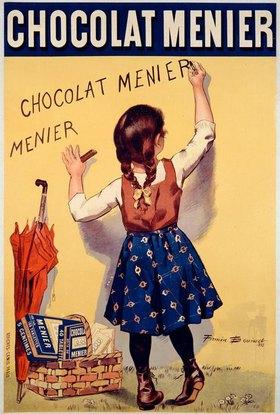 Chocolat Menier / Plakat v. F.Boiusset