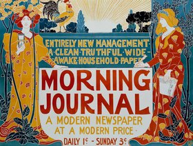 Louis John Rhead: Morning Journal / Plakat