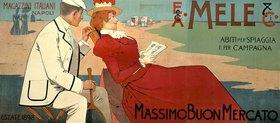 Mele & Ci. Strandmode / Plakat