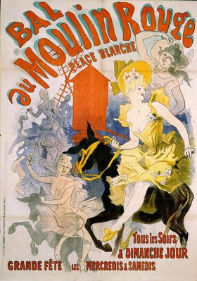 Jules Cheret: Bal au Moulin Rouge / Tous les soirs