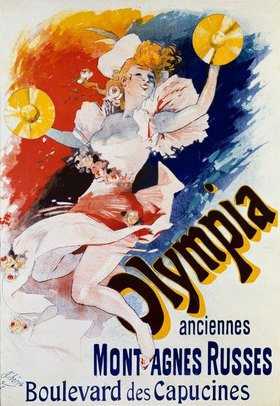 Jules Cheret: Taverne Olympia / Plakat, Chéret