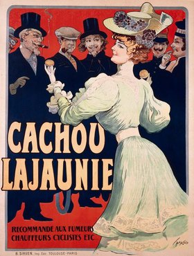 Francisco Tamagno: Cachou Lajeunie-Atemfrisch / Plakat