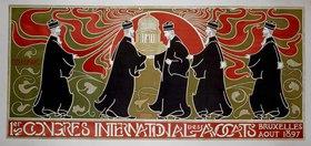 Anwaltskongress / Plakat v. G.Combaz
