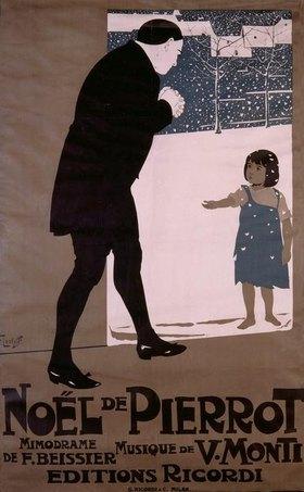 V.Monti, Noël de Pierrot / Plakat