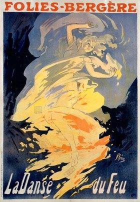 Jules Cheret: Folies-Bergère / La Danse du Feu