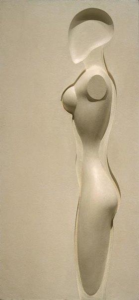 Joost Schmidt: Weibliche Figur
