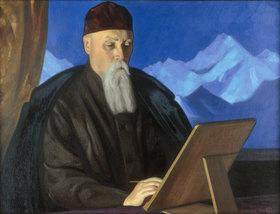 Nikolai Konstantinow Roerich: Portrait of the painter Nicholas Roerich