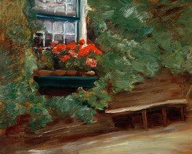 Max Liebermann: Ansicht eines holländischen Bauernhauses
