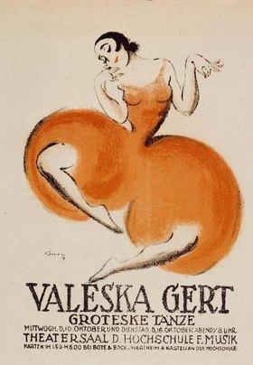 VALESKA GERT / GROTESKE TAENZERIN