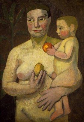 Paula Modersohn-Becker: Mutter und Kind