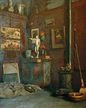 Gustave Caillebotte: Intérieur d'atelier