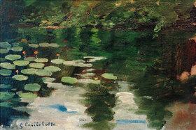 Gustave Caillebotte: Nymphéas sur l'étang
