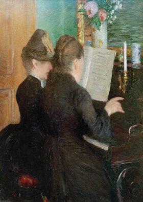 Gustave Caillebotte: La leçon de piano