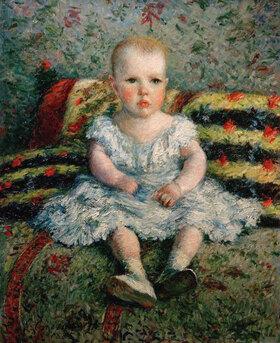 Gustave Caillebotte: L'enfant au canape