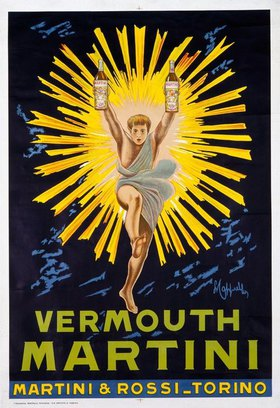 Leonetto Cappiello: VERMOUTH MARTINI