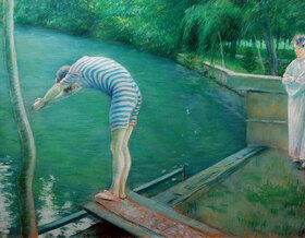Gustave Caillebotte: Baigneurs