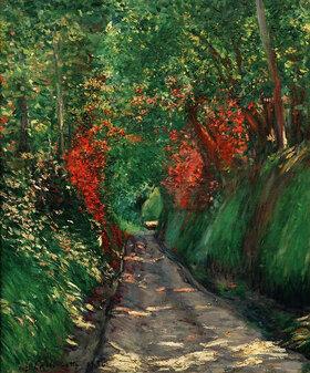 Gustave Caillebotte: Allée sous bois
