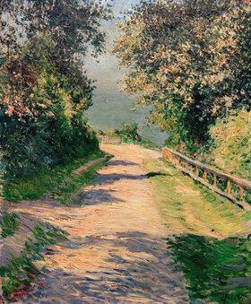 Gustave Caillebotte: Allée de la villa des fleurs, Trouville