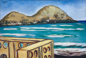 Max Beckmann: Landschaft bei Saint-Cyr-sur-Mer