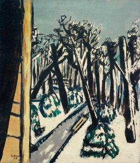 Max Beckmann: Tiergarten im Winter
