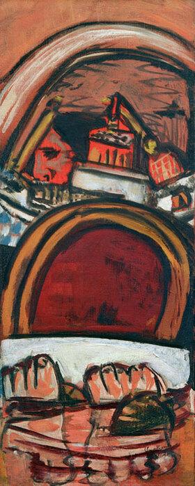 Max Beckmann: Füsse im Bad