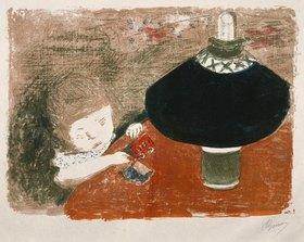 Pierre Bonnard: Das Kind im Lampenschein