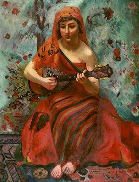Henri Manguin: The Mandolin player / Little Marie