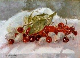 Henri Manguin: Stillleben mit Kirschen und Ananas